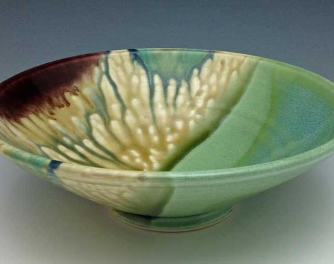 Low Bowl, Watercolor